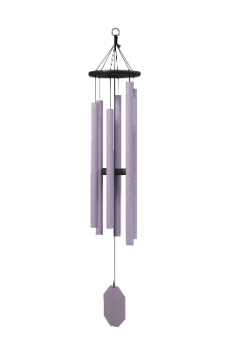 Truillusion Purple Series - Canterbury Bells Wind Chime - 49""