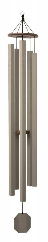 Textured Taupe Series - Sunsetter Wind Chime- 75""