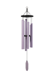 Truillusion Purple Series -  Bleeding Heart Wind Chime - 41""