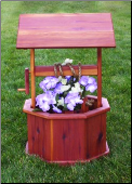 Wishing Well Planter