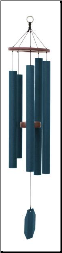 Amethyst Series -  Morning Glory Wind Chime - 36""