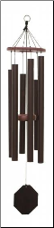 Biblical Bells / Textured Copper - Song of Solomon Wind Chime - 31""