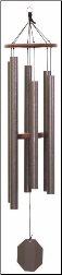 Weathered Bronze Series - Summer Songfest Wind Chime - 52""