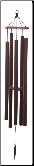 Terra Series - Court Haus Wind Chime - 62""