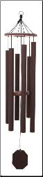 Terra Series - Hummer Wind Chime - 46""
