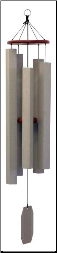 Mocha Series - Alpine Whisper Wind Chime- 38""