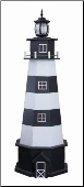 Garden Lighthouses / Cape Canaveral w/ std Elect. Light - Black