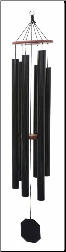 Truillusion Black series / Tex Black - Dream Maker Wind Chime - 64""