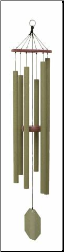 Malachite Series - Forrest Edge Wind Chime - 44""