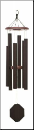 Biblical Bells Series / Textured Copper -Melody of the Heart Wind Chime - 26""