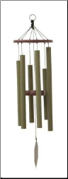 Malachite Series - Tinker Belle Wind Chime - 28""