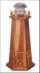 Red Cedar Lighthouse std.Solar Light