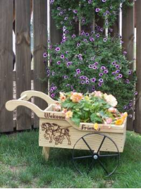 Peddlers Cart Planter