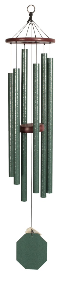 Wind Chimes - Malachite Series