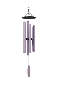 Wind Chimes -Amethyst Series